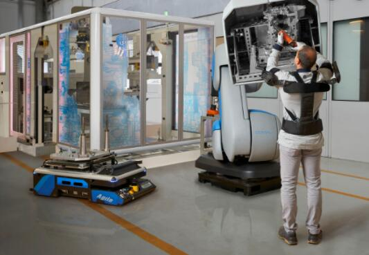 Hyundai develops portable exoskeleton for industrial workers